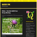 Folien der Scottish QGIS user group verfügbar