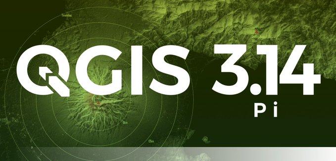 QGIS 3.14 Pi veröffentlicht