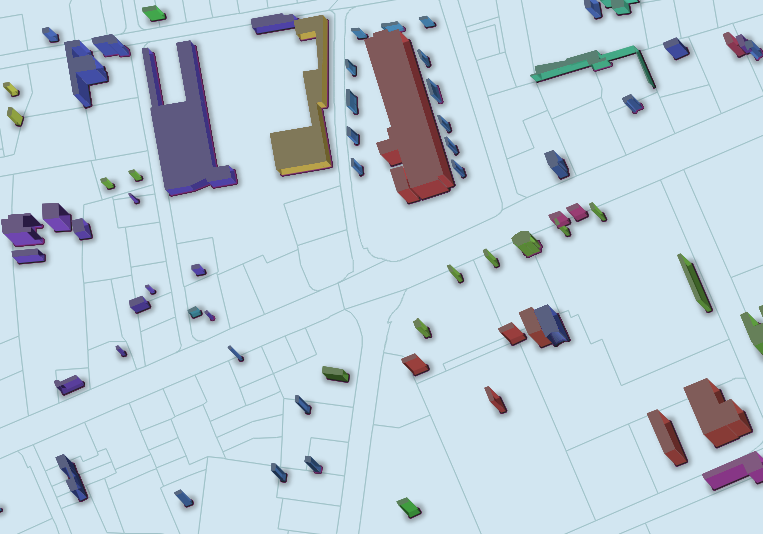 QGIS Crowdfunding: 2.5D Zeichnung von Häusern/Polygonen