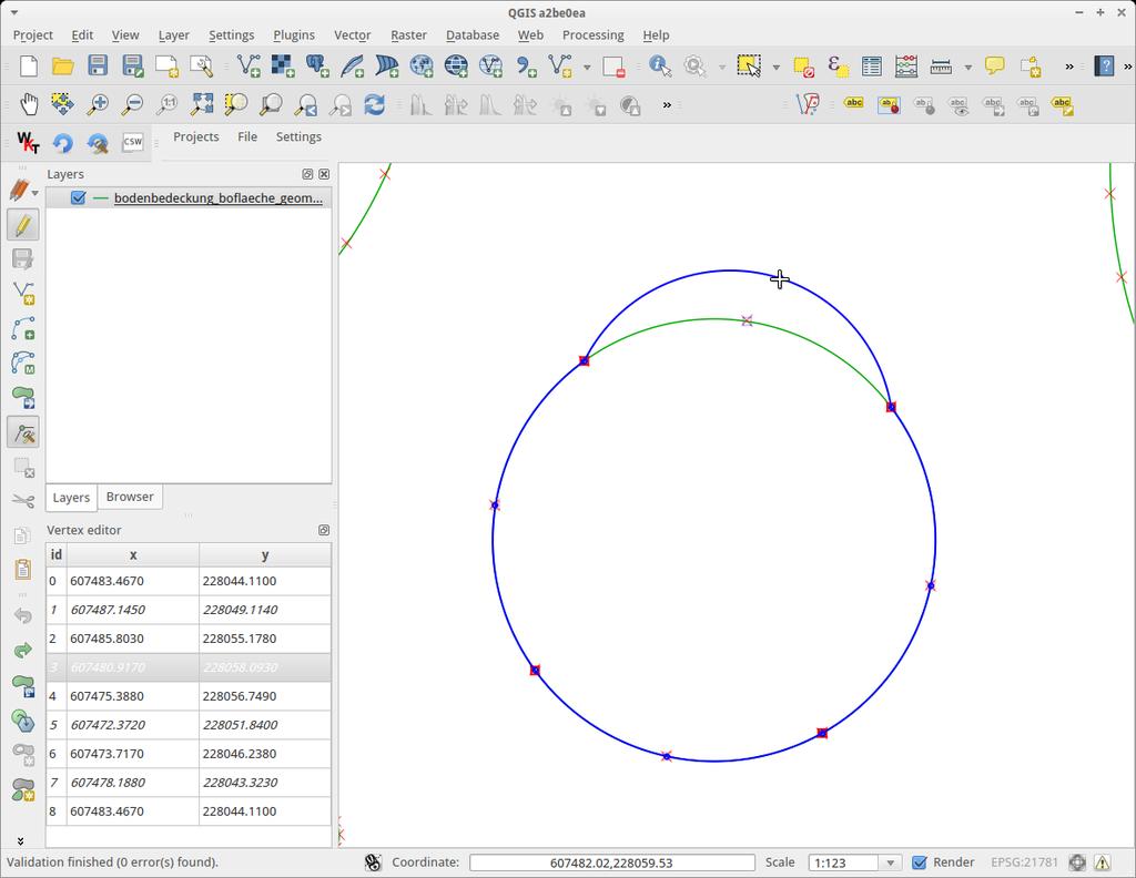 Unterstützung von 2 Projekten: Kreisbögen in OGR Interlis und SQL Compiler