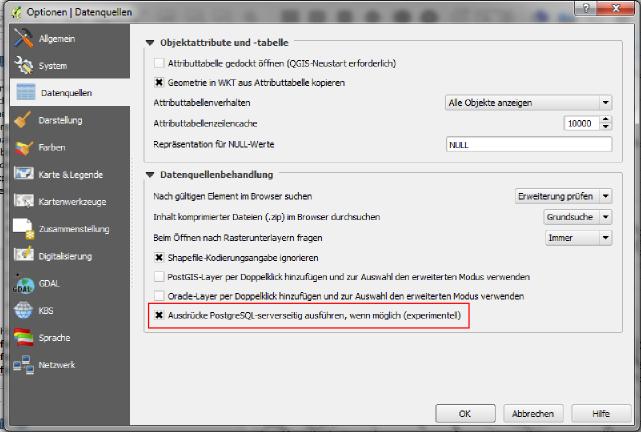 PostgreSQL Expression Compiler for Serverside Filtering