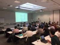 Slides of the QGIS user meeting 2018