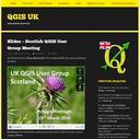 Présentations du groupe d'utilisateurs QGIS Ecosse
