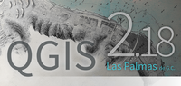 Sortie de QGIS 2.18 Las Palmas